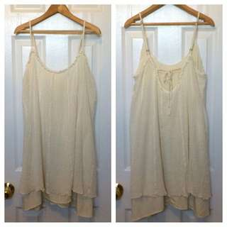 UO KIMCHI BLUE SPRING/SUMMER DRESS SIZE MEDIUM