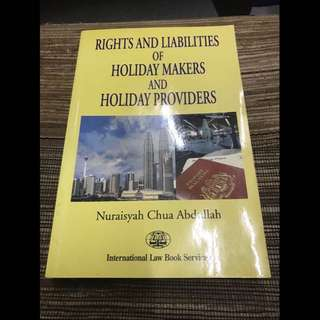 Hospitality Laws & Pengajian Islam
