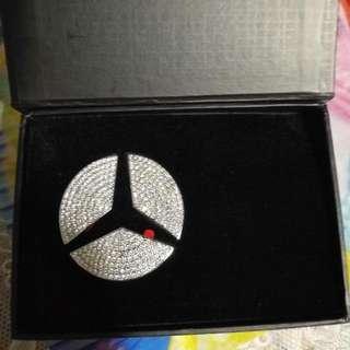 Mercedes Steering Wheel Blink Blink Stickers
