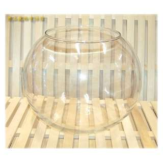==臻品寵物生活館==水晶球缸玻璃圓缸.10吋.10寸水族缸.水族箱.鬥魚缸.金魚缸.角蛙缸.造景缸.風水缸.