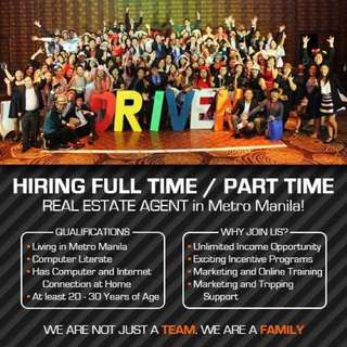 Part-time Property Specialist Position /Full-time