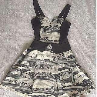 Black & White august {street} Dress. Size 10