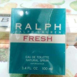 RALPH LAUREN FRESH EAU DE TOILETTE NATURAL SPRAY VAPORISATEUR 3.4 FL.OZ 100 ml.