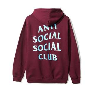 ASSC MAROON FIVE ZIP HOODIE- Ready To Ship