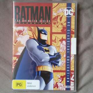 Batman: The Animated Series DVD vol. 1