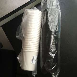 Paper Coffee Cups (25 Sets)
