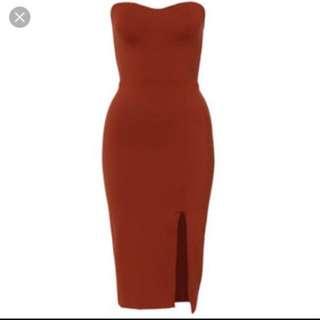Kookai Jacinta Dress RUSTIC/DESERT