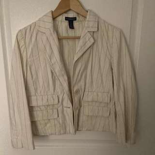 Striped Cotton Jacket Club Monaco