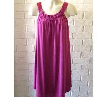 WAYNE by WAYNE COOPER Pink dress size 10 Bust 90cm A line loose fit Satin Straps Near New