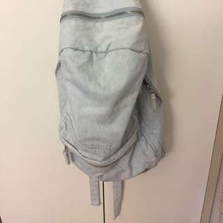 STUSSY Light Denim Backpack