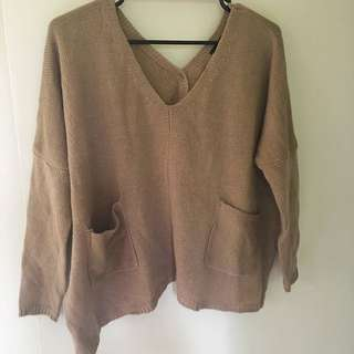 Women Oversize Knit Jumper
