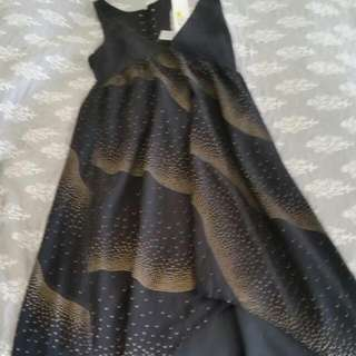 Mink Pink Floor Length Dress. Size:small