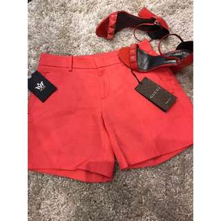 GUCCI Short and MARC JACOBS Shoes Size 36