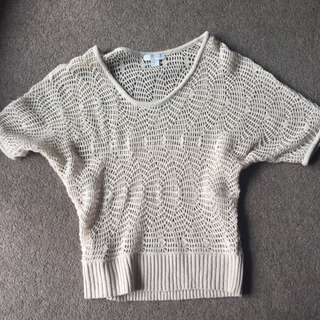 Knitted Beige Top