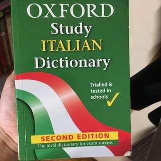 Oxford Italian - English Dictionary