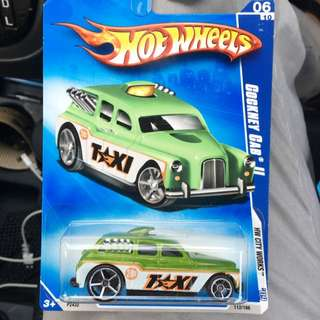 Hot Wheels Cockey Cab II 2009