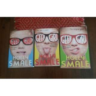 Geek Girl books 1-3 Geek Girl books 1-3