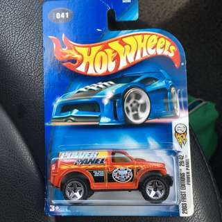 Hot Wheels 2003 Power Panel