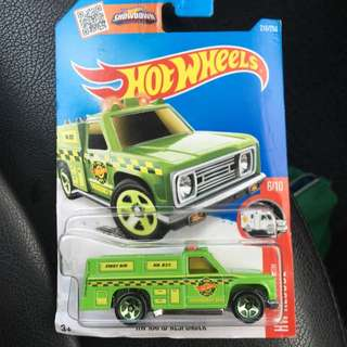 Hot Wheels Rapid Responder