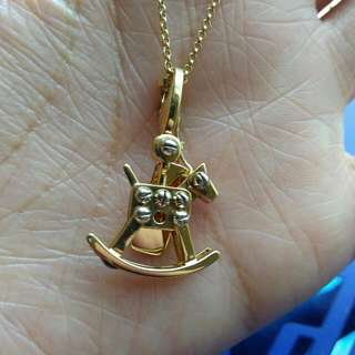 Cartier 18k Rocking Horse Charm