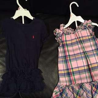 EUC Ralph Lauren 2 Pc Dresses