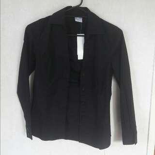 Black Button Up Shirt #under20