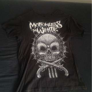 'Motionless In White' tee - size medium