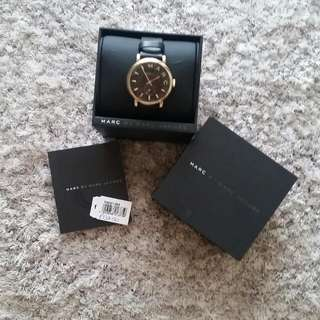 MARC BY MARC JACOBS Leather Stap Watch