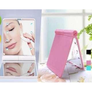 Folding LED Cosmetic Mirror