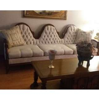 Three Piece Vintage Couch