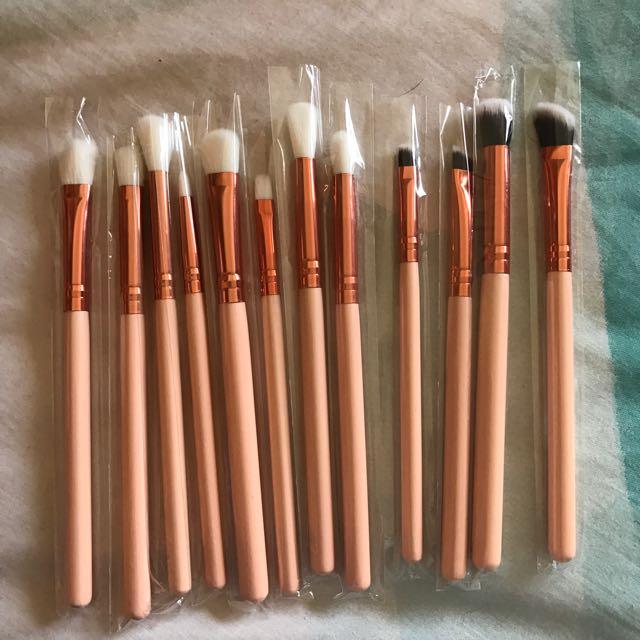 12 Piece Eye Makeup Brush Set