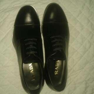 Prada lace up men's shoes