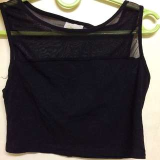 Black Crop top REPRICED!