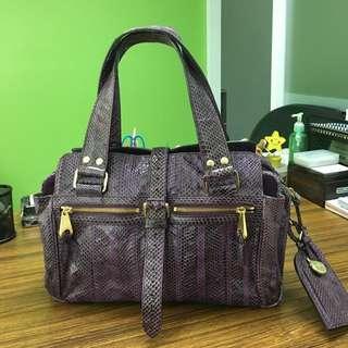 Mulberry Python Skin Bag
