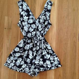 Bardot Tropicana Play suit