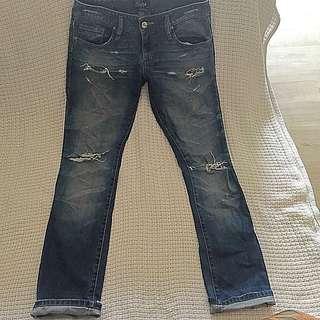 GRIPP Distressed Denim Jeans