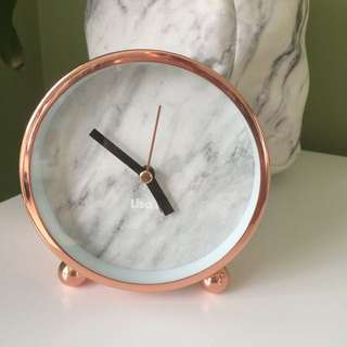 Rose Gold Clock By Lisa T Target Range