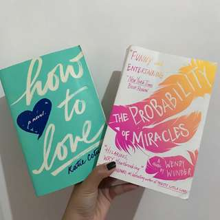 [PROMO] Buy 2 ONLY 170k!!! How To Love & Probabilities Of Miracles