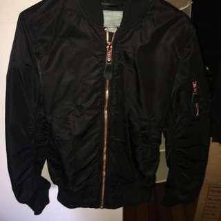 Alpha Bomber Jacket Black