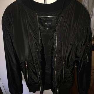 New Look Black Bomber Jacket