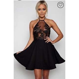 Night Ahead Dress Black size 10