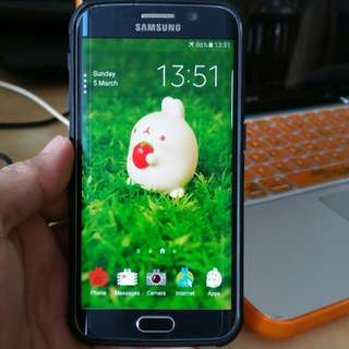 Samsung S6 Edge 32 GB Mint Condition