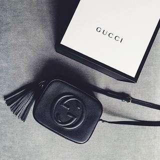 Gucci SOHO Leather Disco Bag [HOLD]