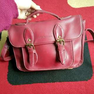 Red Bags From Sophie Paris