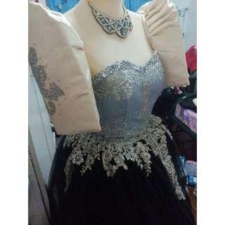 Elegant Filipiniana Gown