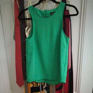 Top Shop Green Singlet