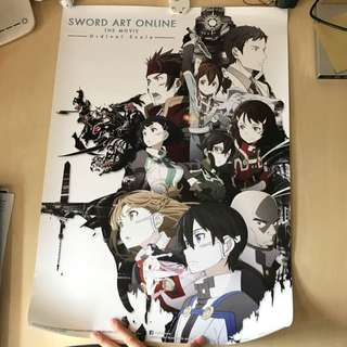 SAO OS poster (Sword Art Online: Ordinal Scale)