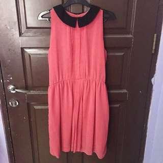 Dress Collar Pink