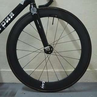 50mm Carbon Front Wheel