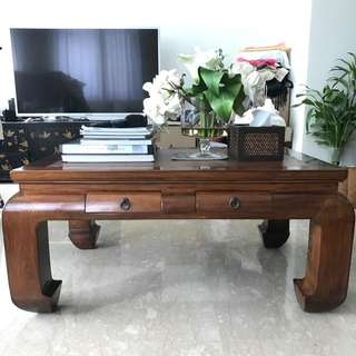 Good Condition Full Teak Wooden Table Set Bought At 1000